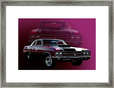 67 Buick Gs 400 Framed Print