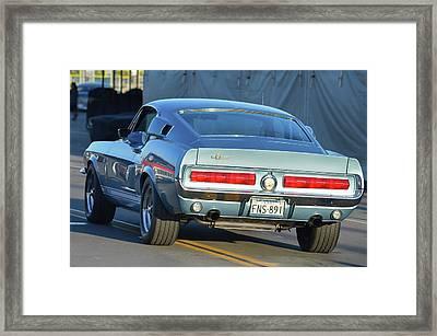 67 Shelby Gt500 Framed Print