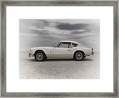'67 Triumph Gt6 Framed Print by Douglas Pittman