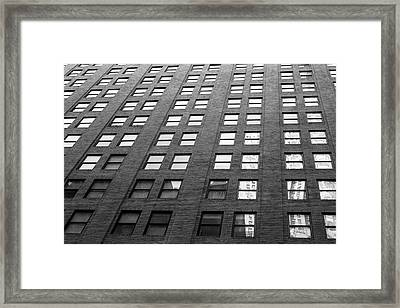 67 Wall St Framed Print