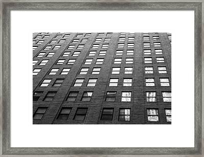 67 Wall St Framed Print