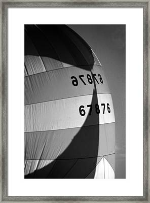 Spinaker Shadow Framed Print