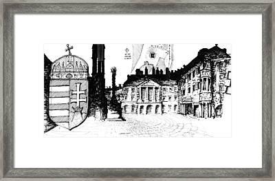 6.7.hungary-1-detail-f Framed Print by Charlie Szoradi