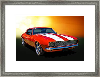 68 Camaro Framed Print