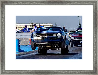 68 Camaro Framed Print by Bill Gallagher