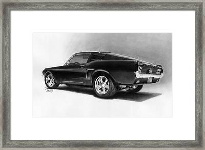'68 Fast Back Framed Print by Tim Dangaran