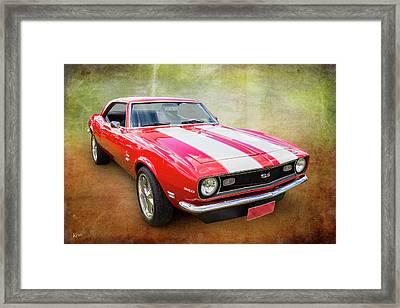 68 Ss Framed Print by Keith Hawley