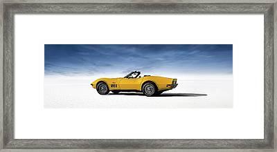 '69 Corvette Sting Ray Framed Print