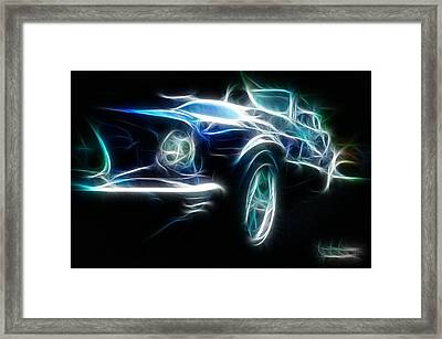 69 Mustang Mach 1 Fantasy Car Framed Print by Paul Ward