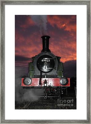 69023 Sunset Framed Print by Bryan Attewell