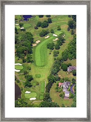 6th Hole Sunnybrook Golf Club 398 Stenton Avenue Plymouth Meeting Pa 19462 1243 Framed Print by Duncan Pearson