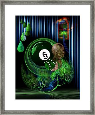 6th Sense Blues Framed Print by Draw Shots
