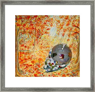6th Step Framed Print by Lucinda Blackstone