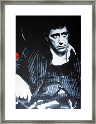 - Scarface - Framed Print