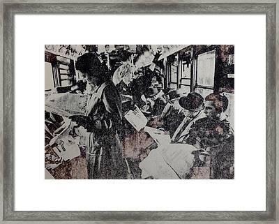 7 Am Framed Print by Paulina Garza Martinez