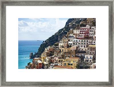 Amalfi Coast Framed Print by Andre Goncalves