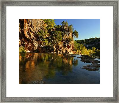 Arbuckle Mountains Framed Print by Iris Greenwell
