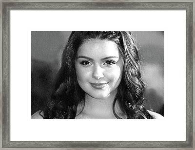 Ariel Winter Art Framed Print by Best Actors