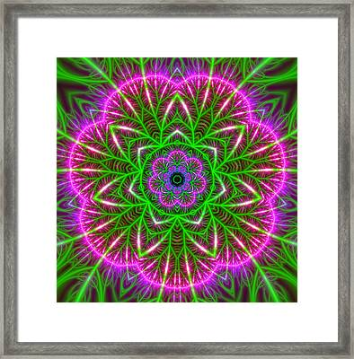 7 Beats Transition Framed Print