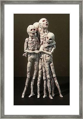 7 Billion And Counting Framed Print by Gary Kaemmer