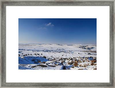 Bodmin Moor Framed Print by Carl Whitfield