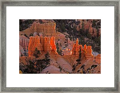 Bryce Canyon N.p. Framed Print by Larry Gohl