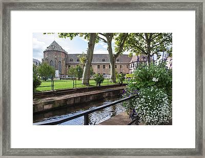Canals Of Colmar Framed Print by Yefim Bam
