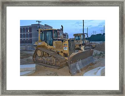 7 - Construction Equipment Series Framed Print by Matt Plyler