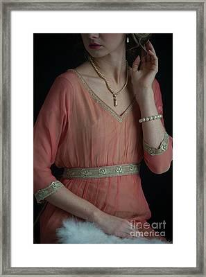 Edwardian Woman  Framed Print