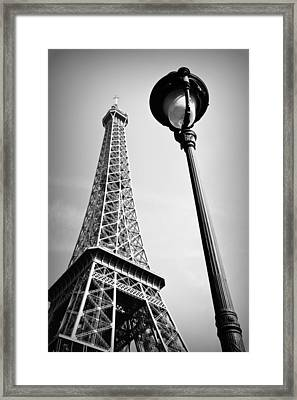 Framed Print featuring the photograph Eiffel Tower by Chevy Fleet