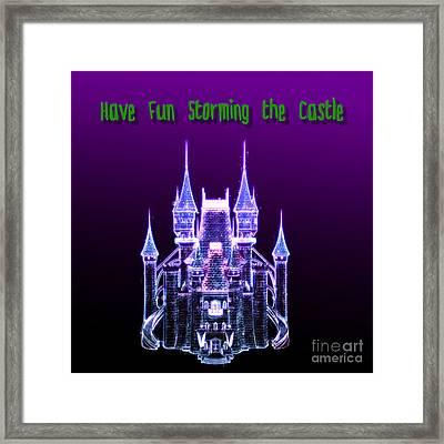 Fantasy Castle Framed Print