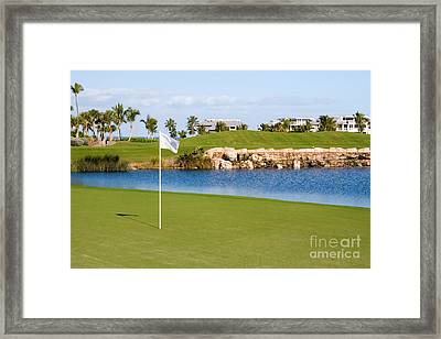 Florida Gold Coast Resort Golf Course Framed Print by ELITE IMAGE photography By Chad McDermott