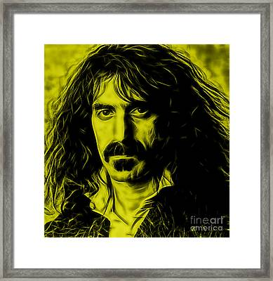 Frank Zappa Collection Framed Print