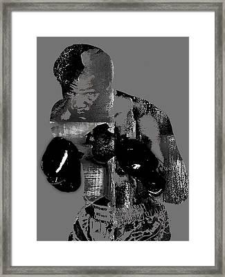 George Foreman Collection Framed Print by Marvin Blaine