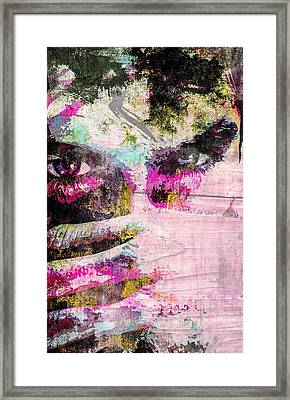 Ian Somerhalder Framed Print by Svelby Art