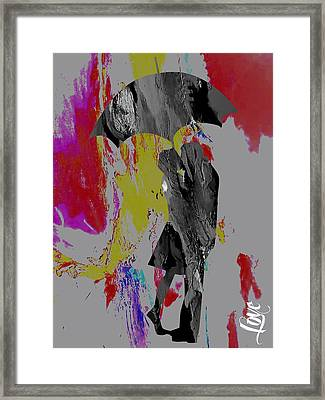 iLove Collection Framed Print