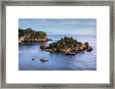 Isola Bella - Sicily Framed Print by Joana Kruse