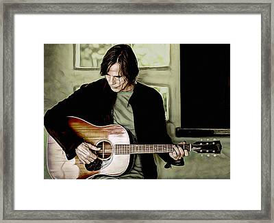 Jackson Browne Collection Framed Print
