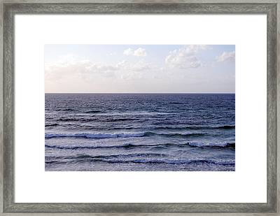 Jaffa Beach 2 Framed Print by Isam Awad