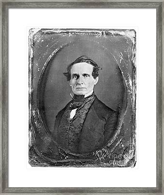 Jefferson Davis Framed Print by Granger
