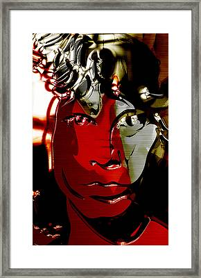 Jim Morrison The Doors Collection Framed Print by Marvin Blaine