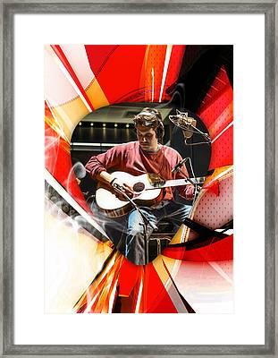 John Mayer Art Framed Print