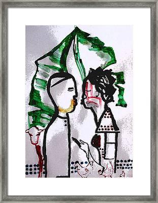 Kintu And Nambi Poster Framed Print