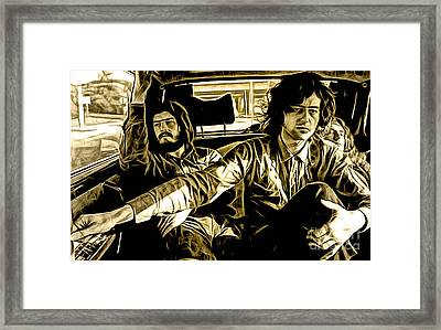 Led Zeppelin Collection Framed Print