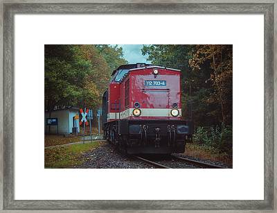 Locomotive Framed Print by Steffen Gierok