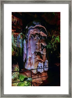 Marble Cave Crimea Framed Print