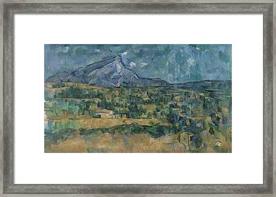Mont Sainte-victoire Framed Print