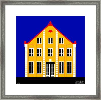 7 North Street Framed Print by Asbjorn Lonvig