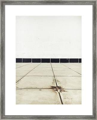 Old Tiles Framed Print