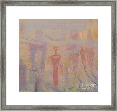Rock Art - Utah Framed Print